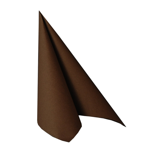 Pappersservett Royal - Brun, 40x40 cm, 50 pack